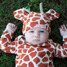 4 Piece Baby Giraffe Outfit