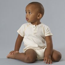 Baby Boy Reglan Bodysuit - 100% Organic Drop Needle Cotton