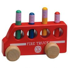 Pop Up Fire Truck Toy