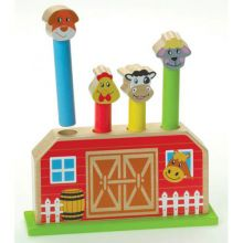 Pop Up Farm Toy