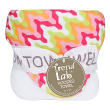 Bouquet Hooded Towel-4 Pack Burp Cloth (Color: Savannah)
