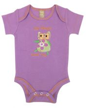 Baby Bodysuit | Baby Outfits (Color: Jelly Bean Owl)