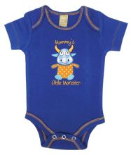 Baby Bodysuit | Baby Outfits (Color: Dreamsicle Monster)
