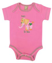 Baby Bodysuit | Baby Outfits (Color: Sherbet Elephant)