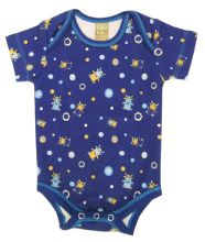 Baby Bodysuit | Baby Outfits (Color: Dreamsicle Monster Scatter Print)