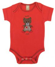 Baby Bodysuit | Baby Outfits (Color: Chocolate Kiss Bear)
